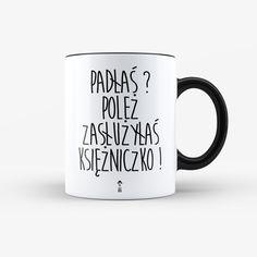 Kubek Padłaś Poleż Księżniczko - 330ml - LazyDog - Kuchnia