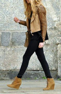 shoes - jacket