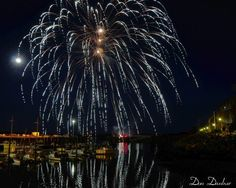Fireworks on the Pier in Eastport, Maine <3