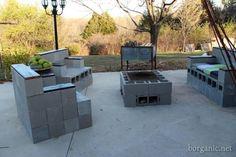 Cinder Block Patio Furniture