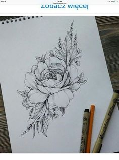 50 Arm Floral Tattoo Designs for Women 2019 - Page 19 of 50 - Flower Tattoo Designs - Tattoo Designs For Women Trendy Tattoos, Cute Tattoos, New Tattoos, Tattoos For Women, Tattoo Women, Tattoos Skull, Finger Tattoos, Tatoos, Beautiful Flower Tattoos