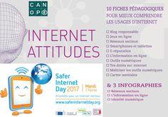Le kit Internet Attitudes gratuit & en téléchargement de @canope_80 pour le #SID2017 #betterinternet
