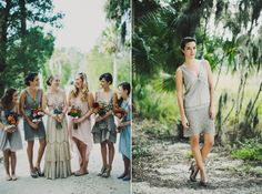 Snippets, Whispers & Ribbons #57  Flapper Inspired Bridesmaids from Ariel Renae