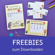 Gratis Freebies zum Downloaden Freebies, Planer, Shops, Bullet Journal, Unit Plan, First Day Of School, School Kids, Tents, Retail