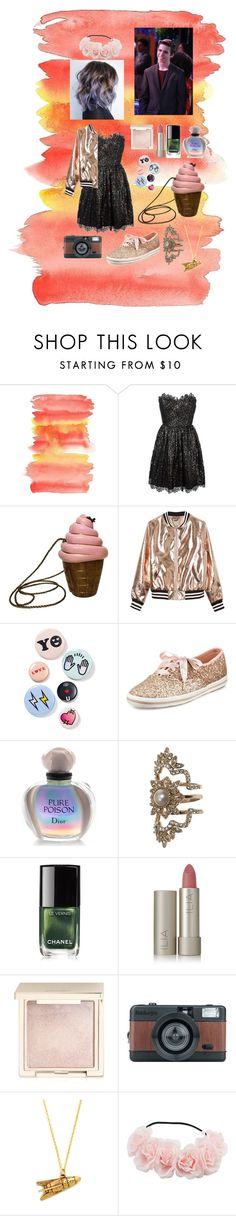 """""""Doing Prom MY Way"""" by disney-geek-forever on Polyvore featuring Yves Saint Laurent, Timmy Woods, Sans Souci, Bing Bang, Kate Spade, Christian Dior, Marchesa, Chanel, Ilia and Jouer"""