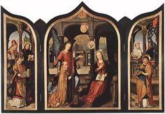 25 marzo - Annunciazione della Beata Vergine MariaJean Bellegambe, Annunciazione, 1516-17, Hermitage, San Pietroburgo