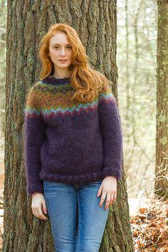 Ravelry: La Gran Colorwork Yoke Pullover pattern by Kristin Nicholas