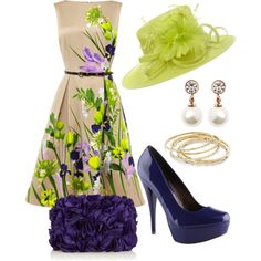 A fashion look from April 2013 featuring Coast dresses, ALDO pumps and Coast clutches. Browse and shop related looks.
