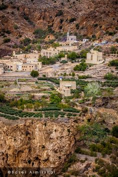 Oman   Village in Jabal Akhdar. credit: StudioBasel. view on Fb https://www.facebook.com/OmanPocketGuide #oman #traveltooman #destination
