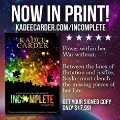 Forbidden kisses, stolen dances, and kickin tail in sparkly shoes. Flip through those pages! Crisp and clean in your thrilled grasp! Grab your own signed copy HERE: http://www.kadeecarder.com/blog/now-available-in-paperback    #paperback #newrelease #books #booklife #youngadult #youngadultbooks #adventure #warrior #warriornation #adventureawaits #teammessybun