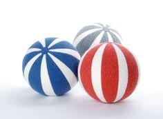 LÜTT & FIEN | großer Streifenball | Spielzeug Möbel Accessoires
