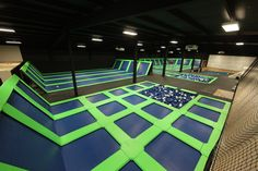 Facility - Air U Indoor Trampoline Park and Birthday Party Center in Longview, Texas