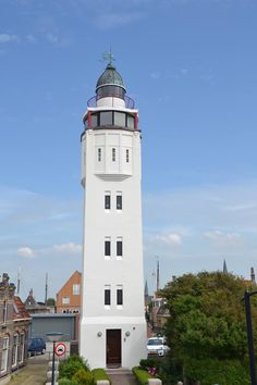 #Lighthouse - Harlingen, Friesland, The #Netherlands.....been - http://dennisharper.lnf.com/