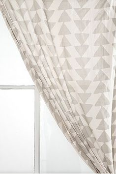 Did you get curtains yet? - Magical Thinking Triangle Chain Curtain