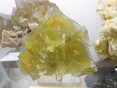 Fluorite, Le Burc Mine. França