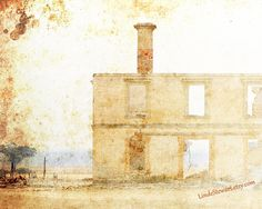 Abandoned House Australia Beige Neutral Tones Home by LindeStewart