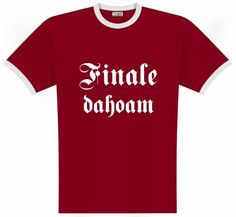 T-Shirt zum Finale am in der Allianz Arena Mens Tops, Women, Bayern, Woman