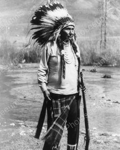 Chief Joseph Indian Poses 1800s Vintage 8x10 Reprint Of Old Photo
