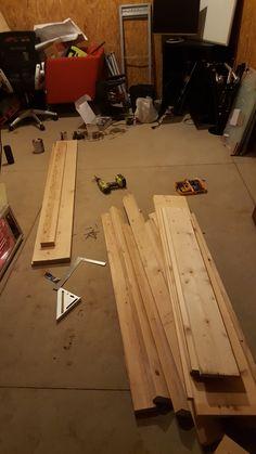 DIY Custom Rustic Bed Frame. Under $100 Budget. Easy build. DIY. Build it yourself. Do it yourself. Diy Bed Frame, Rustic Bedding, Diy Furniture, Budget, Sleep, Building, Wood, Easy, Instagram