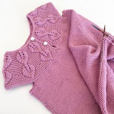 Ravelry: Falling Leaves Dress / Løvfallkjole pattern by Strikkelisa