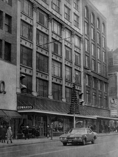Edwards Department Store, East Main St., Rochester, NY 1972