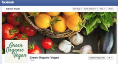FB page now up and running... https://www.facebook.com/pages/Green-Organic-Vegan/216200015201257