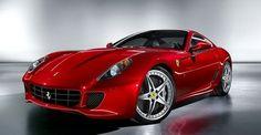 Ferrari 599 in Metallic-Rot