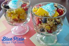 Blue Pixie Fruit Salad Recipe #HadaPirata