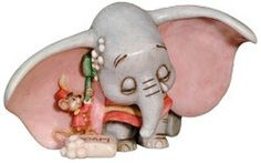 Dumbo's Only Friend Sculpture - Harmony Kingdom Pieces: View the Collections