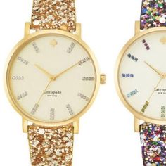 Kate Spade gold sparkle metro watch NWT BRAND NEW AND SOLD OUT EVERYWHERE!! Comes with original box. Original tag and box included. kate spade Jewelry