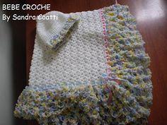 BEBE CROCHÊ: Manta Croche