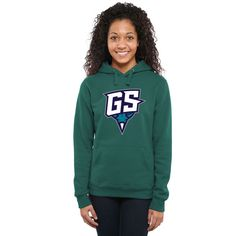 Greensboro Swarm Women's Secondary Logo Pullover Hoodie - Teal - $54.99