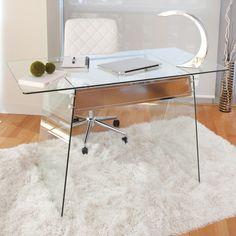 Glass Desk Office Trestle Desks Pinterest 27 Best Glass Office Desk Images Glass Office Desk Black Glass