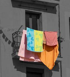 277 / 366 - Ropa tendida de colores