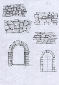 it forum topic.TOPIC_ID& Landscape Drawing Tutorial, Landscape Drawings, Art Sketches, Art Drawings, Architecture Concept Drawings, Building Drawing, Texture Drawing, Perspective Drawing, House Drawing