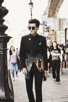 Of course Wu Yi Fan must be in my fashion board