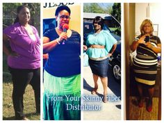 Katina  went from 24-26 dress size to 14 !! I am happy with the 60 pounds I have lost.  > http://www.getskinnywithjoanne.com