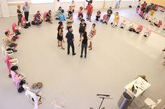 Taller Flamenco en el Aula durante el Festival Suma Flamenca 2014. Teatros del Canal
