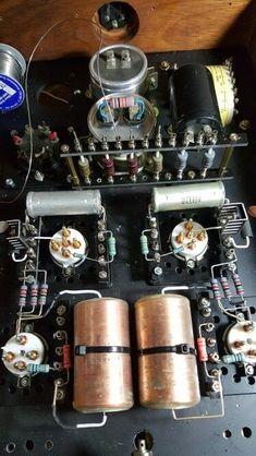 Valve Amplifier, Audio Amplifier, Hifi Audio, Audiophile, Speakers, Diy Electronics, Electronics Projects, Radio Design, Computer Chip