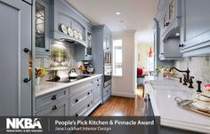 Don't be afraid of colour when designing a kitchen!