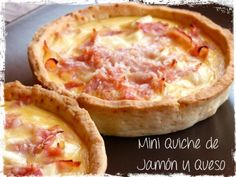Mini Quiches, Tapas, Low Carb Recipes, Healthy Recipes, Sweet And Salty, Finger Foods, Catering, Food To Make, Bakery