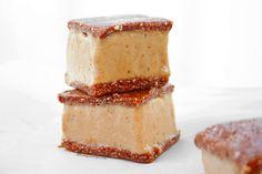 Sanwich helado crudivegano