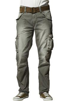 Pantalons cargo Schott NYC BATTLE - Pantalon cargo - kaki kaki: 79,95 € chez Zalando (au 6/07/16). Livraison et retours gratuits et service client gratuit au 0800 797 34.