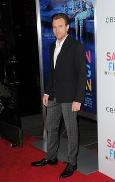 Ewan McGregor in Dolce at the premiere of 'Salmon Fishing In the Yemen' in L.A.