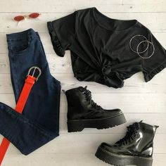 Teen Fashion Outfits, Outfits For Teens, Summer Outfits, Womens Fashion, Cute Casual Outfits, Pretty Outfits, Mode Ulzzang, Mode Kawaii, Western Outfits