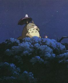 My Neighbor Totoro, I want my children to grow up watching this movie like I did. I love the story.