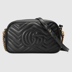 Discover the Collection of Women's Shoulder Bags at GUCCI UK. Shop Black, Red and Beige Leather Shoulder Bags. Gucci Bags, Gucci Store, Gg Marmont, Gucci Marmont, Chain Shoulder Bag, Shoulder Strap, Shoulder Bags, Gucci Gifts
