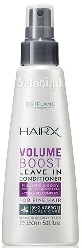 Oriflame HairX Volume Boost Leave in Conditioner for Fine Hair 150 ML
