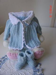 Cats-Rockin-Crochet, Free Crochet and Knit Patterns: Cat's One Piece Wonder, Baby Sweater/Cardigan 3 to 6 months Crochet Baby Sweaters, Cat Sweaters, Crochet Baby Clothes, Baby Knitting, Crochet Bebe, Crochet For Boys, Love Crochet, Knit Crochet, Baby Patterns