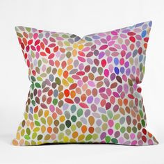 Garima Dhawan rain 15 Throw Pillow | DENY Designs Home Accessories